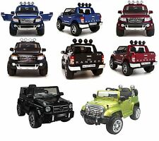 KIDS RIDE FORD RANGER JEEP MERCEDES ELECTRIC TRUCK 4X4 REMOTE CONTROL TOY CAR