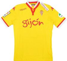 Maglia Calcio Football Shirt Sporting Gijon 2015-2016 Kappa LFP Patch