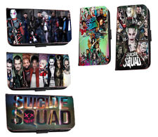 Suicide squad Inspired collage poster leather phone case for iphone Samsung HTC