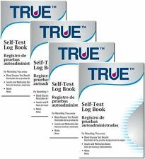TRUE Diabetic Self-Test Log Book , Pack of 4