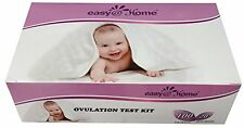Easy@Home branded 100 Ovulation (LH) and 20 Pregnancy (HCG) Test Strips, the rel