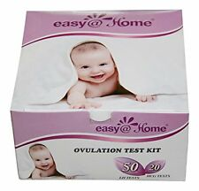 Easy@Home 50 Ovulation Test Strips and 20 Pregnancy Test Strips Kit - or Choose