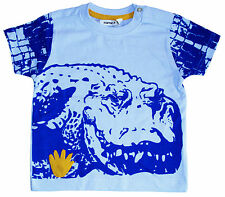 NEU! name it T-Shirt Kurzarm Shirt Baumwolle blau Gr.74 80 86