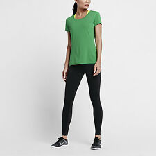 NIKE DRI-FIT CONTOUR SHORT-SLEEVE WOMEN'S RUNNING SHIRT