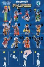 playmobil series, serie 4, REF 5284, FIGURA A ELEGIR, ONE FIGURE TO SELECTED