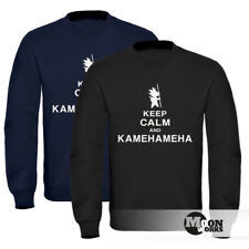 Sweatshirt Herren Keep Calm and Kamehameha Son Goku Dragonball Moonworks®