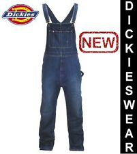 DICKIES BIB Stonewash Mens Regular Fit Latzhose Jeans Overall