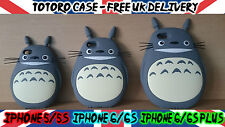 Totoro Studio Ghibli Anime Silicone 3D Mobile iPhone Phone Cover Case Protector