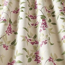 SMD iLiv Bougainvillea Embroidered Floral Upholstery Curtain Fabric - Fuchsia