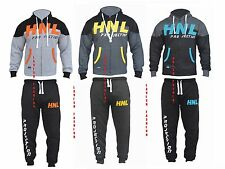 HNL MENS FLEECE JOGGING SUIT HOODED TRACKSUIT BOTTOMS TROUSERS PANTS TOPS