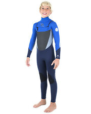 Rip Curl Dawn Patrol Youth 5/4mm Wetsuit (2017) in Blue