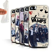 Official The Vamps Gel/TPU Case/Cover for Apple iPhone SE /The Vamps Doodle Book