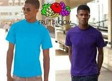 FRUIT OF THE LOOM CAMISETA Manga Corta HOMBRE de ALGODÓN 165gr