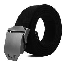 Men Canvas Outdoor Belt Military Equipment Cinturon Western Strap Men'S Belts  0