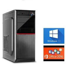 Büro PC Intel Core i3 6100 16GB 1000GB HDD Windows 10 Office 2016 Workstation-1