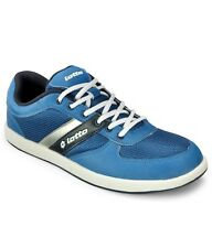Lotto Royal Blue/Silver Mesh & Synthetic Sports Shoes For Men (AV3781)