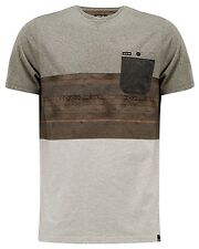 Animal Jona  Mens T-Shirt in Dark Olive Green