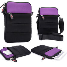 """Kroo Universal Retro Sleeve 10"""" Tablet Cover w/ Shoulder Strap ND10R2-1"""