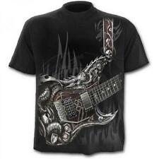 DTO. -20% ! Camiseta Chico SPIRAL Manga Corta Air Guitar -TR327600- Rock, Metal,