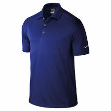 Nike Golf Mens Dri Fit Solid Short Sleeve Solid Polo Shirt - 465802