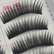 10 Pairs Thick Handmade Make Up Natural Fake False Eyelashes Eye Lashes