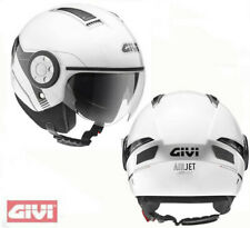 Casco Givi air jet demi moto scooter h111 h 11.1 blanco white helm helmet