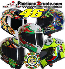 Casco integral Agv k3 sv Rossi dreamtime five continentes imola elements misano