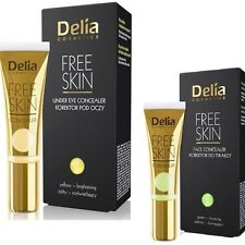 Delia Mineral Face Concealer Free Skin Yellow Green Flawless Skin Hides Redness