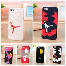 For iPhone & Samsung Sneaker Trainer Air Jordan Nike Shoes Soft Gel Case Cover