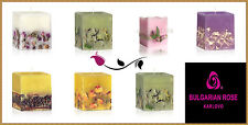 AROMA CANDLE 75/75/80 MM Hand MADE, Rose , lavender, Orange, Patchouli, CINNAMON