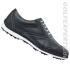FOOTJOY GOLF DONNA CARPE GOLF LOPRO CASUAL PELLE NERA SCARPE LARGHEZZAAMPIA: M