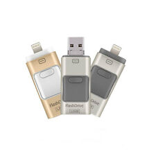Flash Drive OTG USB External Memory Stick For iPhone Android iPad iPod Touch PC