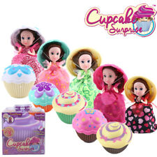 New Original Cupcake Surprise Princess Doll Scented Collection with ACCESSORIES