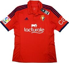 Maglia Calcio Home Football Shirt Osasuna 2014-2015 Adidas + LFP Patch