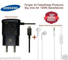 Original Android/Micro USB Samsung Mobile Charger with Earphones (optional)