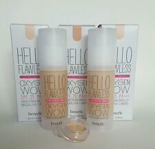 Benefit Hello Flawless Oxygen Wow Brightening Makeup 1-3ml SAMPLE. Free Delivery