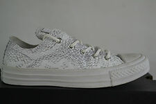 Converse All Star Chucks Ox  Reptile Print - White Mouse Weiß Schuhe shoes Gr 35
