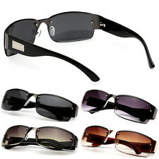 Mens Square Sunglasses Sports UV400 Driving Glasses Outdoor Eyewear UK