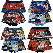 Boys Kids Paw Patrol 2 pcs Boxer Shorts Briefs Underwear age 2-8 years