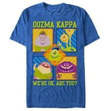 Pixar: Monsters University- Oozma Kappa T-Shirt Blau Neu Shirt Tee