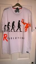 BNWT MENS NO FEAR EVOLUTION T SHIRT