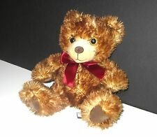 Musical Teddy Bear, 12 Inch Plush Stuffed Animal -  Soft Brown Friend Minky