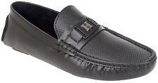 Hirolas Driving loafer shoes - Black