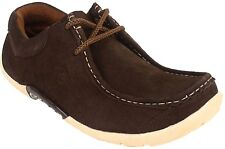 Guava Suede Casual Shoes - Brown