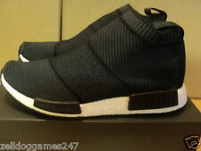 ADIDAS NMD CS1 PK PRIMEKNIT BLACK WINTER WOOL CITY SOCK UK 7.5 & 9.5 = US 8 & 10