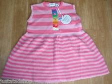 Bonnie Baby girl knitted cotton dress 18-24 m 2 y BNWT pink  designer