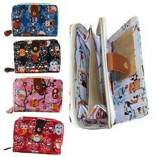 Ladies Owl Purse Small Wallet Coin Purse