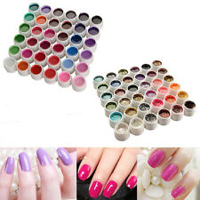 36X Pure Glitter UV Gel Solid Constructor U?as Manicura Decoración Nail Art Kit
