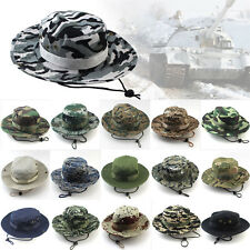 Boonie Hat Bucket Cap Fishing Military Hunting Safari Outdoor Men Wide Brim