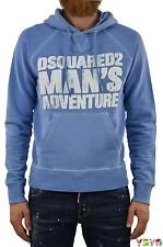 Dsquared2 DS2 Uomo Felpa Man's Adventure - tg. XS/L - Made in Italy